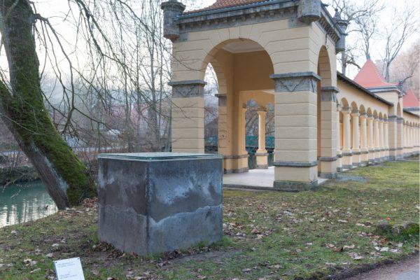 2018 war Ulrike Mohr aus Berlin Artist in Residence im Wildbad Rothenburg.