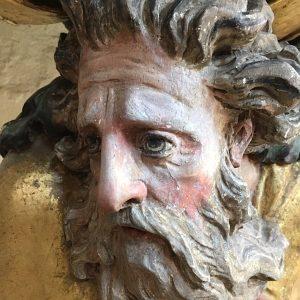Moses aus der Markgrafenkirche in Pilgramsreuth.