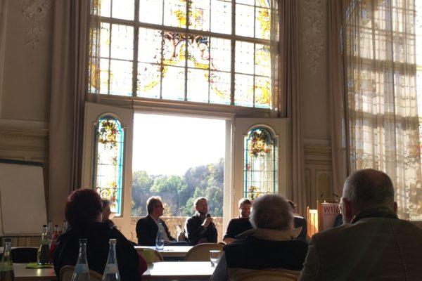 Das Kunstsymposium 2017 fand in der Evangelischen Tagungsstätte Wildbad Rothenburg statt.