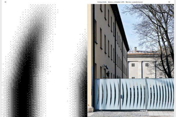 Die Publikation Sieben mal Sieben Kunst des 21. Jahrhunderts in der Evangelisch-Lutherischen Kirche in Bayern.
