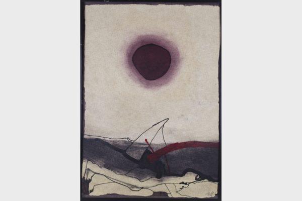 Ein Werk des Kunstpreisträgers 1980 Hubert Distler.