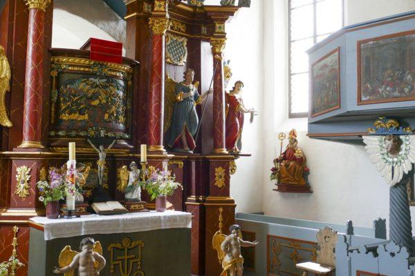 Die Klaussteinkapelle in Kirchahorn.