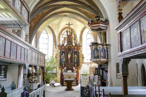Die Markgrafenkirche in Rugendorf.