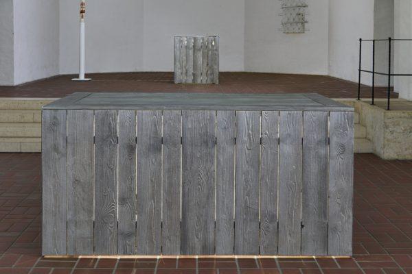 Die Prinzipalstücke von Benjamin Bergmann in der Markuskirche in München.