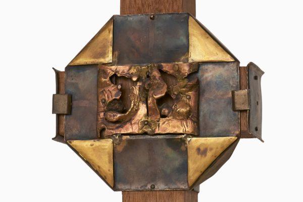 Ein Werk des Kunstpreisträgers 1983 Karlheinz Hoffmann.